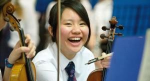 chinese student violin
